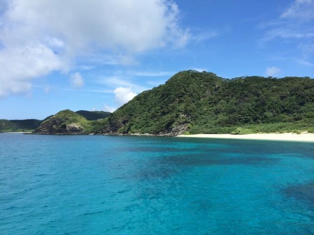 慶良間の海