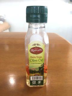 オリーブオイルの容器